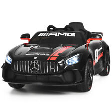 12V Mercedes Benz AMG Licensed Kids Ride On Car with 2.4G Remote Control Black