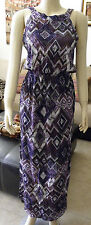NWOT From Peru Cotton Dress Day Night Casual Wear Spring Summer Sz 6 - 8 #31853