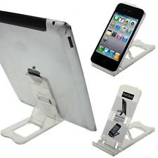 Clear iPad iPhone Tablet Desk Stand Holder Mobile Phone Folding Portable Zandy