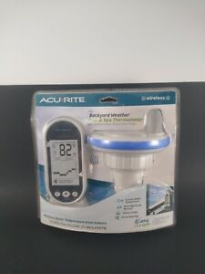 Acu-rite Weather Wireless Floating Pool And Spa Thermometer New in Package