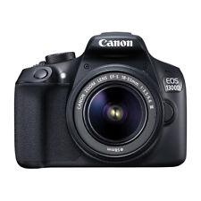 Cámara SLR Canon EOS Rebel T6/1300D D con lente 18-55mm EF-S f/3.5-5.6