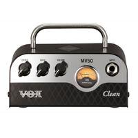 Vox MV50 Clean 50W Miniature Hybrid Tube Amp Head MV50CL