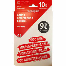 01523 73 777 48 VIP Vodafone D2 Callya Smartphone SPECIAL Card 10,99€ LTE 500MB
