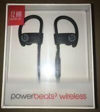 New Beats Powerbeats 3 Wireless by Dr. Dre Ear Hook Bluetooth Headphones Black