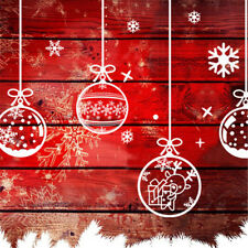 Merry Christmas Happy New Year Wall Art Removable Home Shop Wall@@