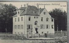 AK Erholungsheim Hahnhof bei Feucht, Mittelfranken, 1914, gelaufen