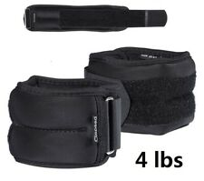 2LBS Adjustable Leg 2 Strap Ankle Wrist Weights Running Fitness Strength Gym USA