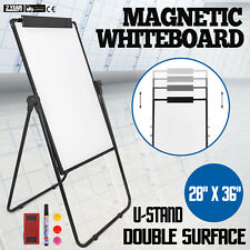 Magnetic Whiteboard Mobile Erase Board 36*24 Double Sided Office School Use