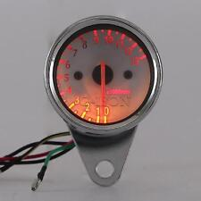 LED Backlit Tachometer Fit Honda VT Shadow Spirit Velorex Deluxe 600 750 1100