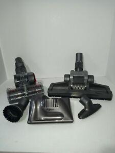 5 Dyson Vacuum Attachments Floor Brush Stair Turbine Tools etc DC07 DC14 DC17