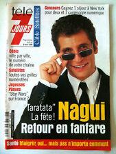 Télé 7 Jours 3/04/1999  Nagui / Tina Arena / 50 ans de Paris Match / Bigard