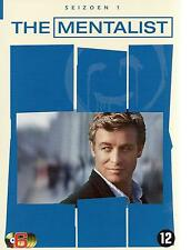 6 DVD box - THE MENTALIST season 1 FRANCAIS DEU ESPA ENGL / NL region 2