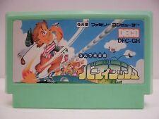NES -- GOLF CLUB Birdie Rush -- Famicom. Japan game. Work to ensure!! 10243