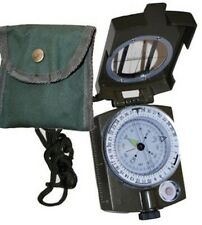 Prismatic Hand-Held Hunting Camo Military Metal Camping Survival Compass Pocket
