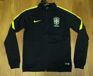 Brazil 2017 Black Player issue Training / Travel Jacket size M