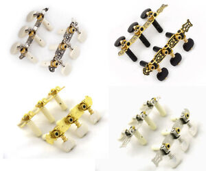 6 x CLASSICAL ACOUSTIC GUITAR TUNING PEGS Machine Heads Keys New various styles