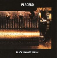 PLACEBO black market music (CD album) EX/EX CDFLOORX13 alternative rock