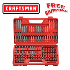 Craftsman Ultimate Screwdriver Bit Set - 208 pcs 208 piece Power Tools Box Case