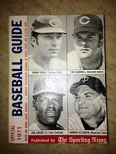 1971 OFFICIAL BASEBALL GUIDE THE SPORTING NEWS BENCH GIBSON KILLEBREW McDOWELL