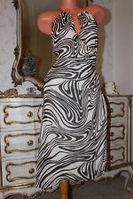 100 (3) PLANET 100% silk ladies bias cut asymmetrical hem line  dress size 12