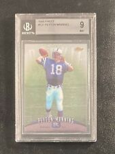 Peyton Manning 1998 Topps Finest Rookie RC #121 BGS 9 Mint Indianapolis Colts