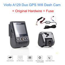 Original Viofo A129 Duo F1.6 Dash Kamera G-Sensor Wifi w/ GPS+Hardwire+Sicherung