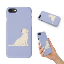LABRADOR RETRIEVER DOG 4 BACK HARD CASE COVER FOR APPLE IPHONE