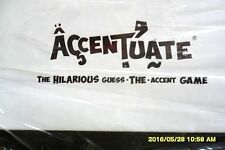 ACCENTUATE THE HILARIOUS GUESS THE ACCENT GAME NEW SEALED 24 hr shipping