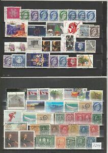 Briefmarkenlot  Kanada   siehe Scan  / Lot  7244