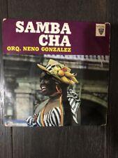 """Rare Cuban EP / ORQUESTA NENO GONZALEZ """"Samba Cha"""" / Areito EPA 1039"""