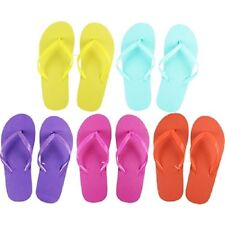 Women's Flip Flops, Wholesale lot of 48 pairs, Assorted Colors and Sizes