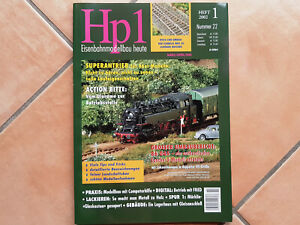48 Heft  Hp1 Eisenbahnmodellbau heute Fahr zur Hölle.......
