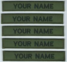 Irish Defence Forces Name Strips x 5 Irish Military Name Tags Army Insignia