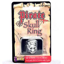Nouveau Bague Crâne Pirate Jack Sparrow Buccaneer Halloween Déguisements