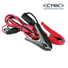 CTEK Battery Charger Quick Connector/ Comfort Indicator With Alligator Clamps