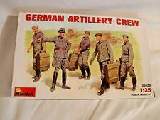 1/35 MiniArt 5 Figures German Artillery Crew & Accessories # 35029