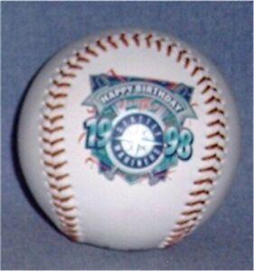 Seattle Mariners 1998 Happy Birthday Baseball