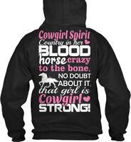 Horse Gift Cowgirl Love Horses Gildan Hoodie Sweatshirt