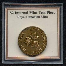 Canada 2 Dollar  (Toonie) Rare Test Token