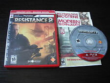 """Playstation PS 3 PS3 complete in case Resistance 2 """"Greatest Hits"""" tested"""