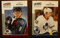 2009/10 UD Victory RC LOT OF 2 - DUCHENE STAPLETON Avalanche Leafs COMB SHIP