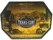 Lionel Trains Trans Con Centennial Edition Tin  PC CD-ROM Game Steam Engine