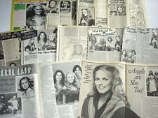 CHERYL LADD Charlie's Angels star teen magazine pages LOT of 11 rare 1970's