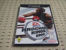 Knockout Kings 2003 03 para GameCube * embalaje original *