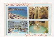 Hotel Aquarium Fenals Lloret de Mar Spain Postcard 364a
