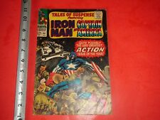 Jb550 Vintage 1966 Iron Man Captain America Marvel Comic #86