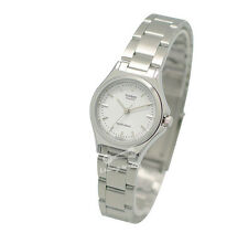 -Casio LTP1130A-7A Ladies' Metal Fashion Watch Brand New & 100% Authentic