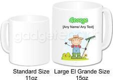 Personalised Gardening Gardener Gift Mug Coffee Cup 15oz Farmer Present Idea #1