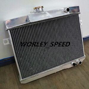 Radiator For Aftermarket Volvo Amazon P1800 B18 B20 Engine GT 1959-1970 Manual