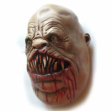 Lifesize Severed Meateater Zombie Head Haunted House Halloween Party Prop 14""